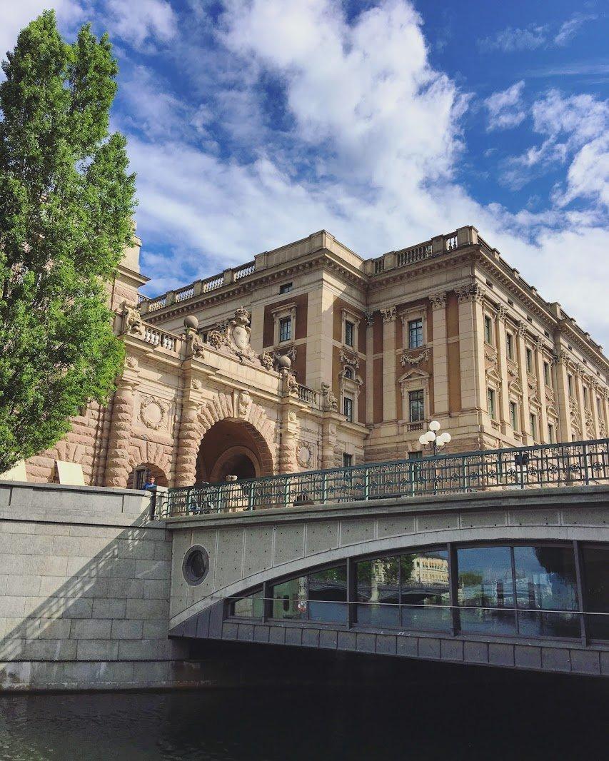 travel stockholm sweden architecture tour gleam living